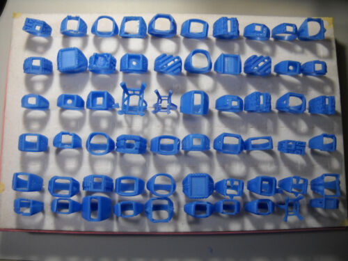 1571# Jewelry Wax patterns for casting rings wax ring all square wax ring