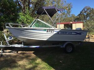Stacer aluminium runabout Perth Perth City Area Preview