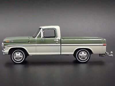 1970 FORD F-100 SHORT BED PICK UP TRUCK W/ HITCH 1/64 COLLECTIBLE DIECAST MODEL