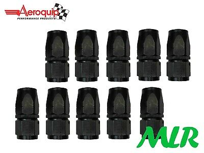 AEROQUIP AN-10JIC STRAIGHT OIL COOLER REMOTE FILTER HOSE UNION FBM4414 SET OF 10