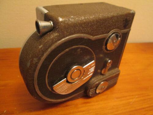 Vintage Revere Eight Model Seventy-Seven 77 Movie Film Wind-up Camera - Runs