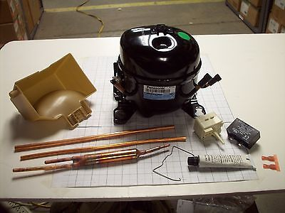 New Electrolux Refrigerator Compressor Kit Part# 5304475092 for sale  Shipping to India