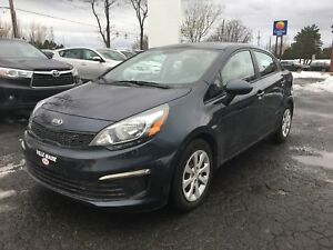 2016 Kia Rio LX BLUETOOTH AIR CLIMATISÉ