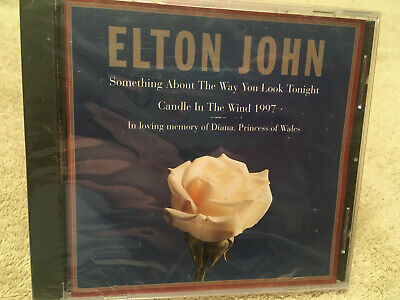 Elton John Something about the Way You Look Tonight Candle in the Wind 97 CD