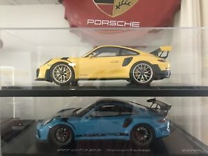 Porsche 911 GT2 RS + 911 GT3 RS Both Weissach Pack