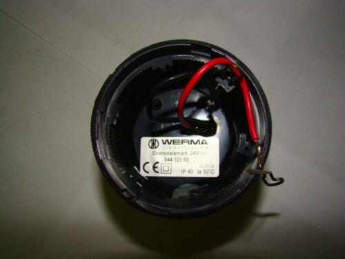 1pc. Werma 844 123 55 Sirenenelement Alternating 24V, Used