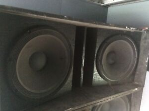 Commercial speakers For Sale Or Trade
