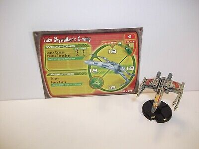 Star Wars Miniatures - Luke Skywalker's X-wing 20/60 - Rare
