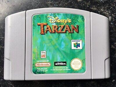 Disney's Tarzan Game PAL Cartridge Only Nintendo 64 N64