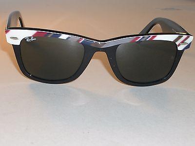 RAY BAN RB2143 1027 50[]22 MULTI COLOR STRIPES G15 WAYFARER SUNGLASSES w/CASE (Multi Colored Wayfarer Sunglasses)