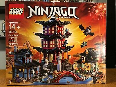 LEGO Ninjago Temple of Airjitzu 70751 New Is Sealed Box *RETIRED*