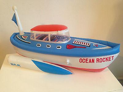 Großartig & Selten Schiff Aufblasbar aus Kunststoff Ocean Rakete Nr ° 5 Neu