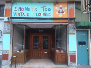 Shoney's Too vintage used clothing store