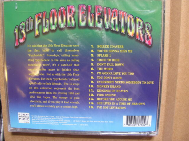 The 13th Floor Elevators - Psychedelic Circus (CD 2009)  new