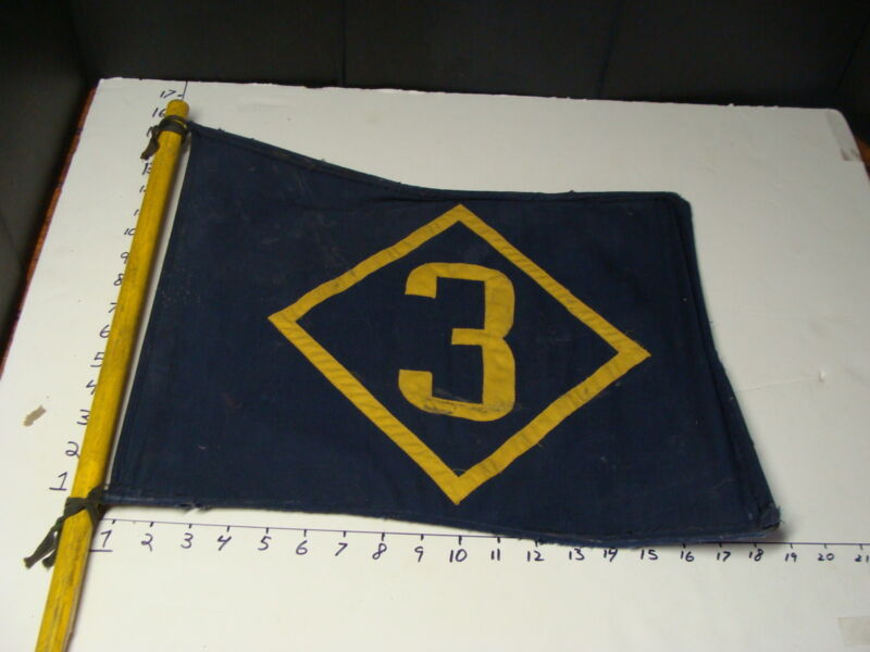 Vintage Blue and Yellow CUB SCOUT TROUP FLAG #3