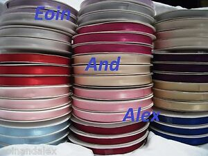 Double-Satin-Ribbon-Full-reel-25m-or-50m-LONG-3mm-10mm-16mm-25mm-Width