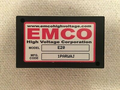 Emco E20 Adjustable 0 To 2000 Volts 2kv 1.5ma High Voltage Power Supply Module