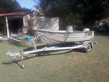 Clark Cutter 12 ft Tinnie, trailer, motor and extras Ningi Caboolture Area Preview