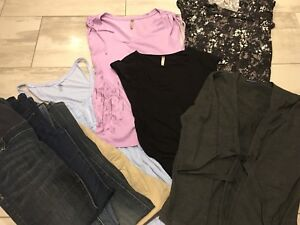 Maternity clothing - Jeans and tops
