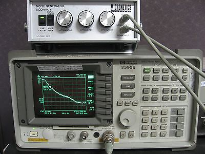 Broadband Noise Generator Tested 100hz-100mhz 10dbm Signal Noise Output Opt.