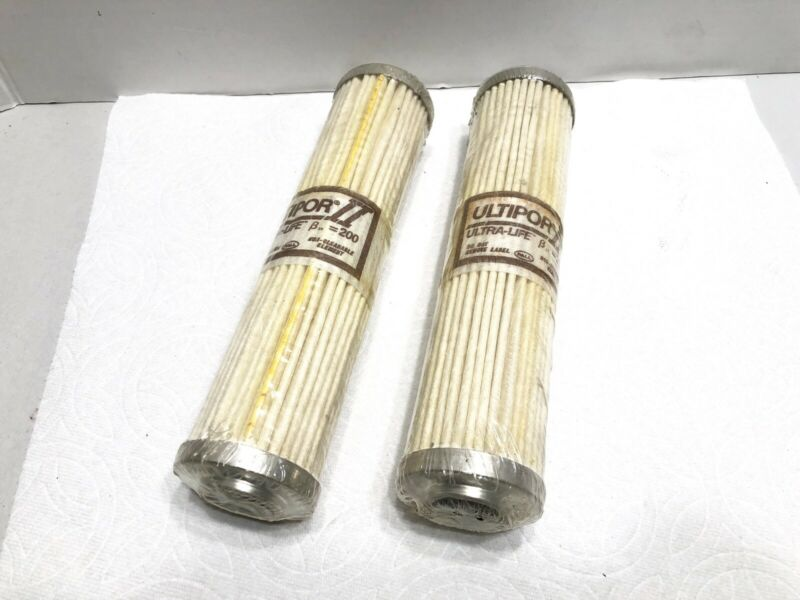 PALL ULTIPOR II HC8700FDT8H Filter Element, Lot Of 2