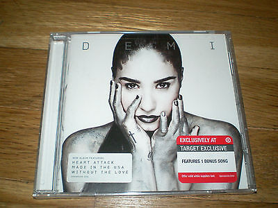 DEMI LOVATO: Demi CD+1 BONUS 2013 TARGET EXCLUSIVE New Sealed on Rummage