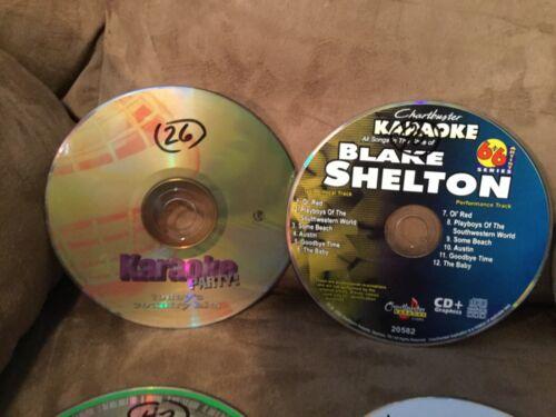Mixed Lot of 20 Sound Choice CDG+ Karaoke Music Discs