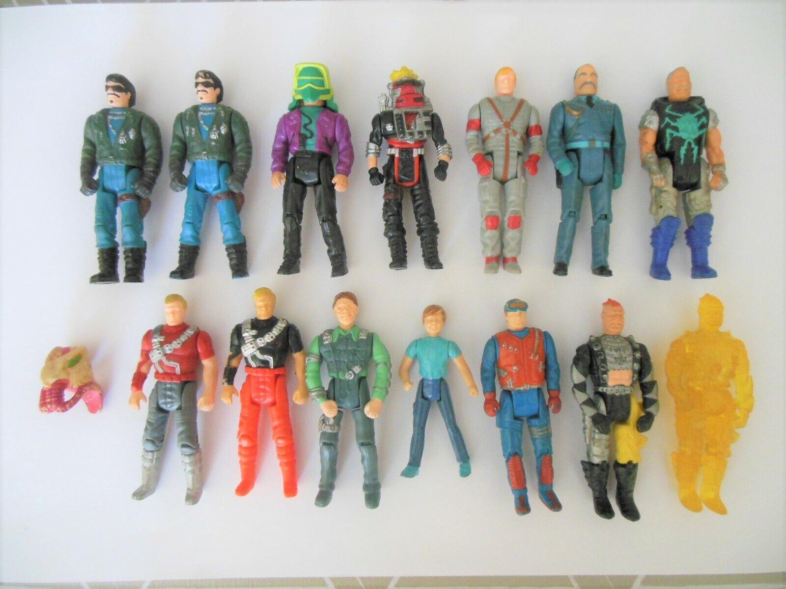 MASK M.A.S.K. lot action figures vintage 80' KENNER figurines