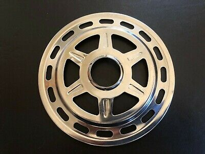 SPOKE PROTECTOR CHROME STEEL TO FIT VINTAGE RETRO BIKES WITH SCREW ON CLUSTER