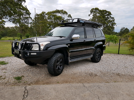 2007 Toyota Landcruiser Prado GXL - with leather  seats