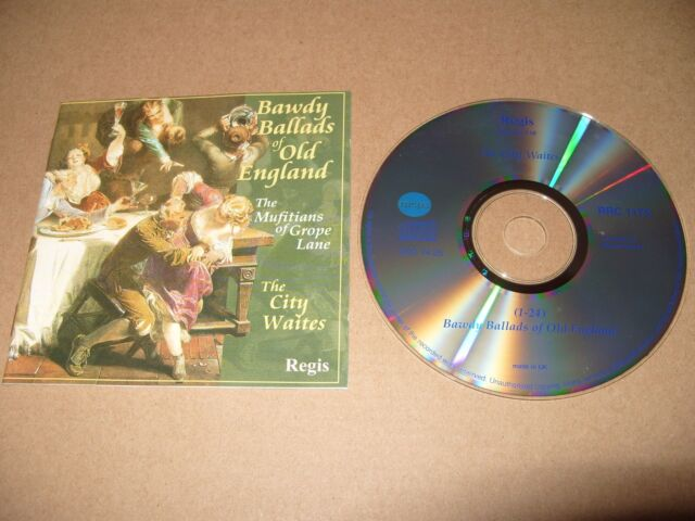Bawdy Ballads of Old England (1996) cd  Excellent Condition