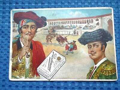 1910 Piedmont Cigarettes World's Smokers Large Trade/Advertising Card - Spain