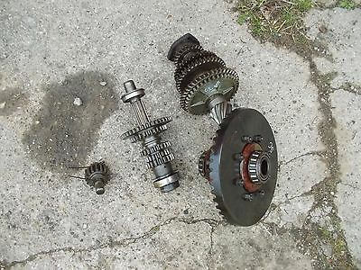 Farmall Sc Tractor Ih Transmission Coplete Drive Gears Ring Pinion Assembly