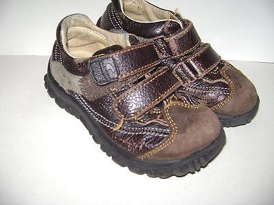 Primigi Toddler Boys Shoes - PRIMIGI TODDLER BOYS CASUAL SHOES SNEAKERS size 27 US 10 BROWN LEATHER