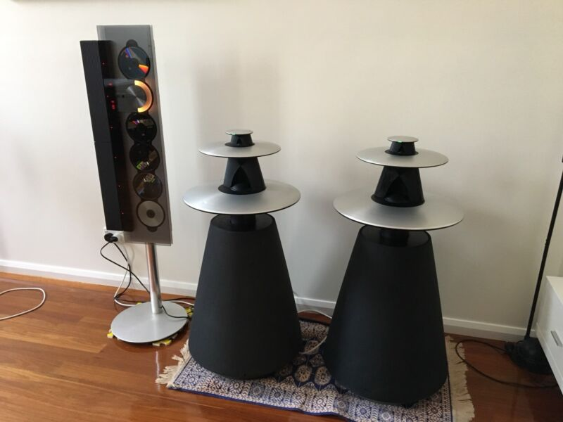 Bang olufsen beolab 5 speaker pair fully working speakers bang olufsen beolab 5 speaker pair fully working fandeluxe Images