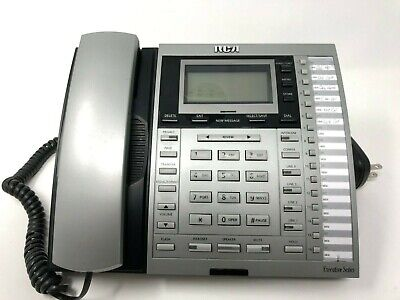 Rca 25414re3-a Executive Series 4line System Corded Phone With Intercom Free Shp