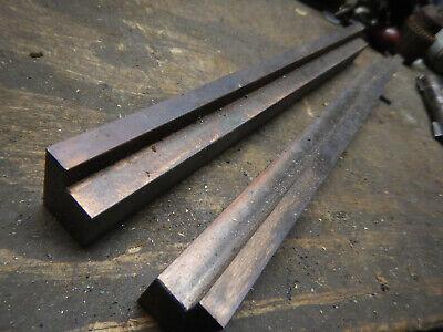 2 Lamina Die Wear Bars Parallel Bars Machinist Jig Fixture Metal Stamping