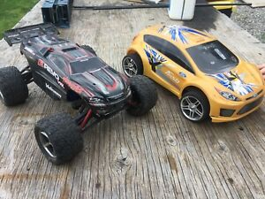 Traxxas rc mini revo and rally