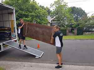 MEN IN BLACK REMOVALS & STORAGE  2 MEN +TRUCK FROM $80/PH Waterloo Inner Sydney Preview