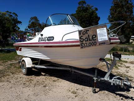 5 mt. NAUTIGLASS Fibreglass boat