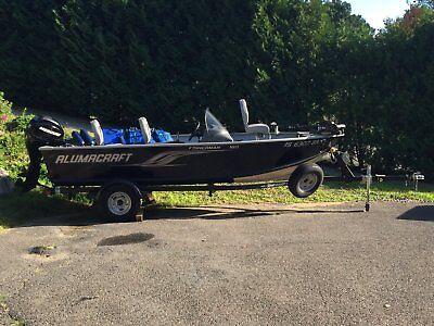 16 Foot 2013 ALUMACRAFT FISHERMAN 160 Boat For Sale