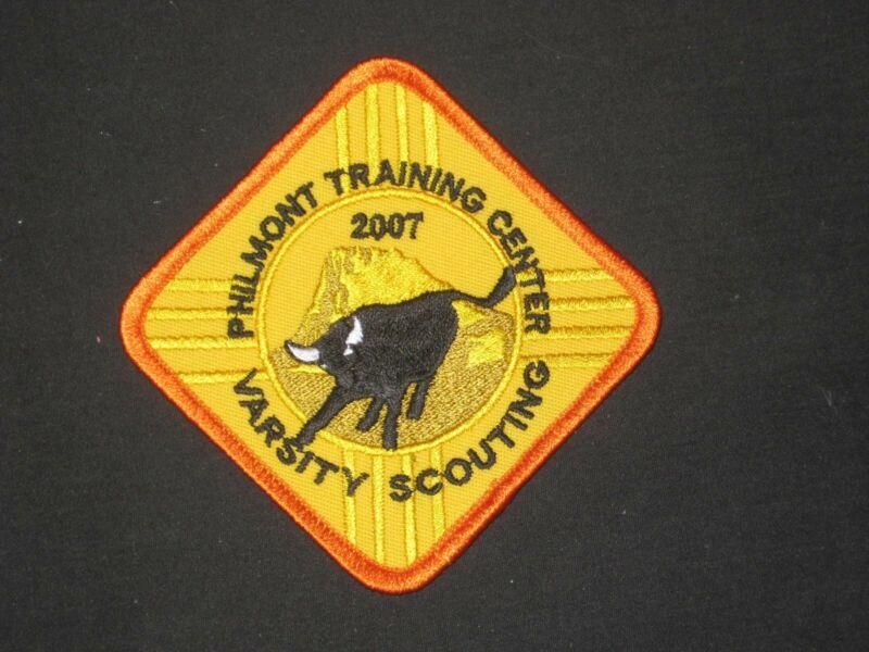 Philmont Training Center 2007 Varsity Scouting Pocket Patch