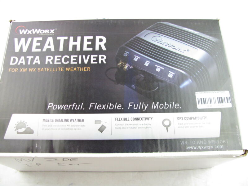 WXWORX WEATHER DATA RECEIVER FOR XM WX SATELLITE