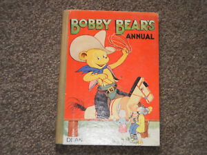 Vintage 1952 Bobby Bear children's hardback Annual