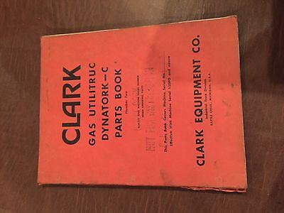 Clark Forklift Utititruc Dynatork C 150pq  Manual Parts