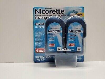 Nicorette Coated Nicotine Lozenges 4mg Ice Mint - 80 -