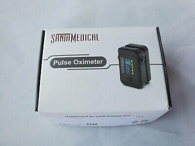 Santamedical Dual Color Oled Pulse Oximeter Fingertip Blood Oxygen Saturation