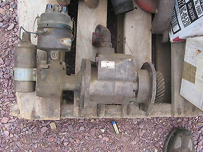 M W Tractor Hydraulic Pump M Super M  Smt 400 450 International Ih Farmall