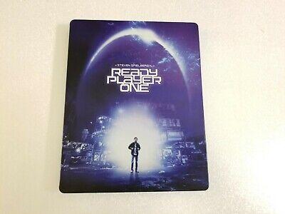 Ready Player One (4K UHD, Blu-ray, 2018) Best Buy Exclusive Steelbook. OOP