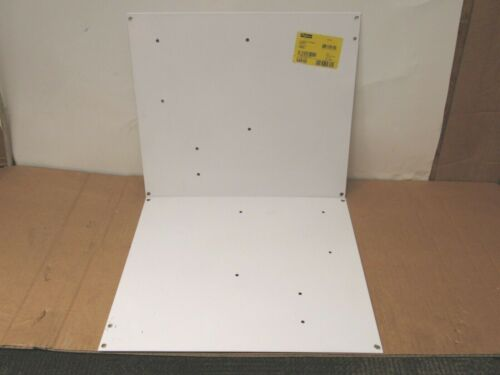 Lot Of 2 Hoffman Enclosure Back Plate Panel A16p14 54810 14-3/4 X 13 - Used